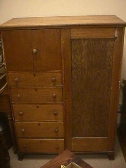 antique oak armoire wardrobe 304 antique oak 5 drawer wardrobe armoire 1305171