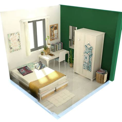 desain kamar kost elegan gambar kamar idaman top una planta de casas modernas