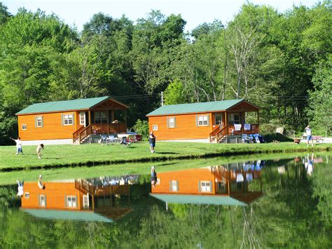 Cabins To Rent In Pennsylvania by Cabin Rental Rates In Western Pa Meadville Koa Cground