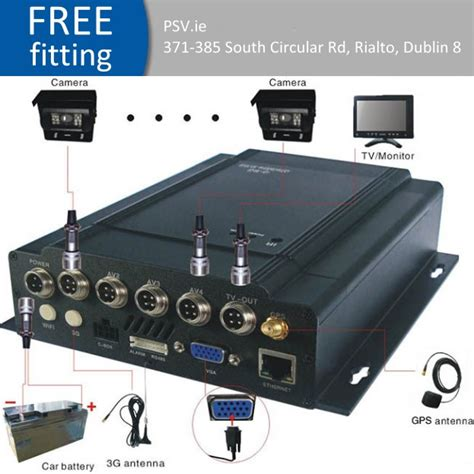 mobile cctv mobile cctv dvr 3g surveillance system with wifi and gps
