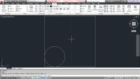 autocad layout zoom extents autodesk inventor tutorial