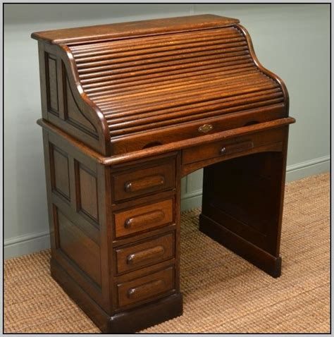 vintage small roll top desk small antique roll top desk antique furniture