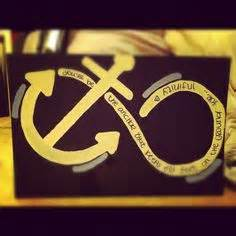 infinity sign with anchor infinity sign and galaxy karlee galaxies