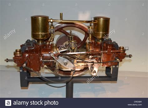 Picture Of The First Car With Combustion Engine In The