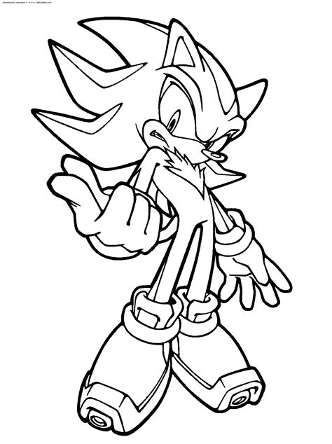 amazing sonic coloring pages kinder super shadow