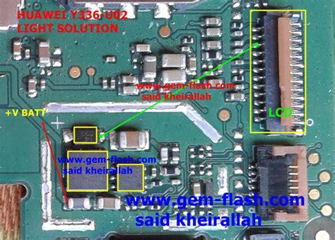Lcd Huwawei Y336 huawei y336 u02 display light solution z2cell pusat servis hp