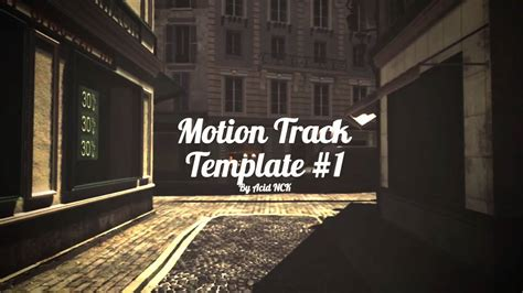 motion track template motion tracking template 1 resistance