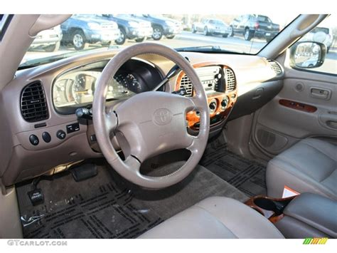 Toyota Tundra Limited Interior by Oak Interior 2000 Toyota Tundra Limited Extended Cab 4x4