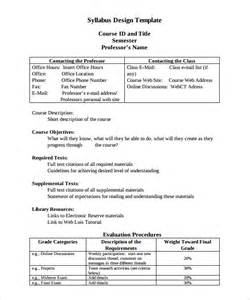 sle syllabus template 8 free documents in pdf