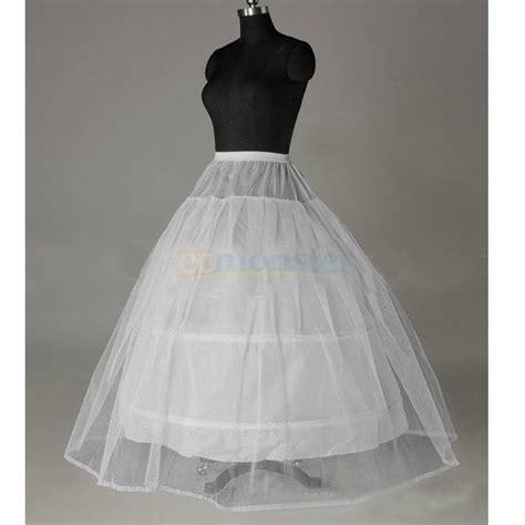 bridal petticoat crinoline hoop skirt a line wedding slip