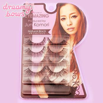Eyemazing Eyelash No 102 5 Pairs buy eyemazing jun komori false eyelash no 102