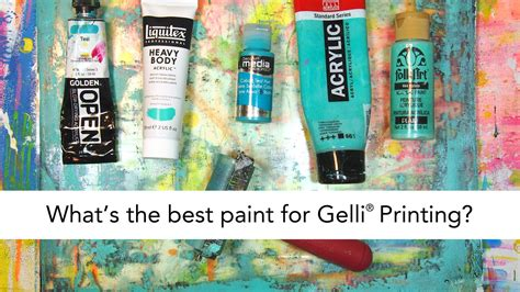 what is the best paint to use on kitchen cabinets what is the best paint for gelli printing 174 youtube