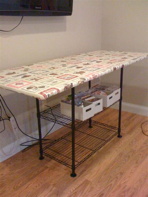 Best Sewing Table For Quilting by 105 Best Quilting Room Ironing Board Tables Images On