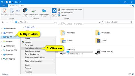 windows mapping map network drive in windows 10 windows 10 tutorials