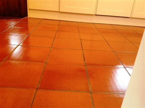 quarry tiled kitchen floor in cockermouth north cumbria tile doctor