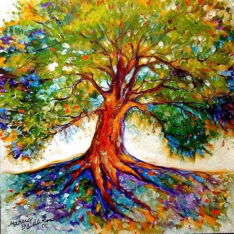 colorful tree of life tattoo idea tattoos pinterest