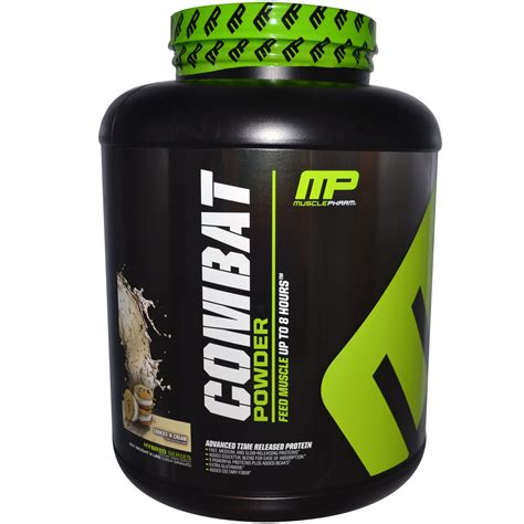 Mp Combat 4 Lbs pharm combat powder advanced time release protein