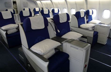 fly business class