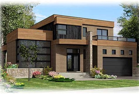 rooftop deck house plans roof deck on contemporary home plan 90231pd