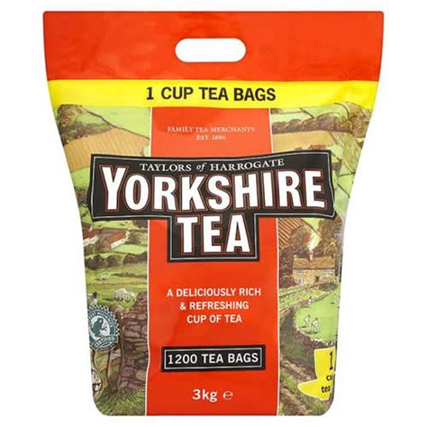 Yorkshire Tea 1200 Pack One Cup Tea Bags