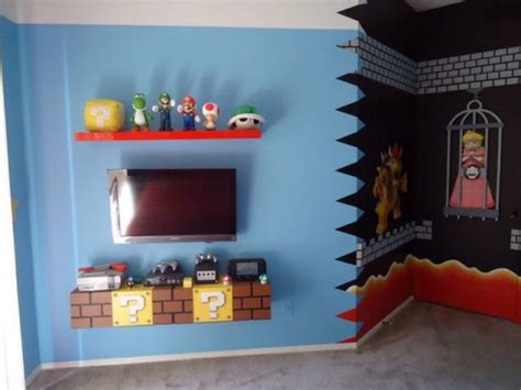 mario themed bedroom super mario brothers bedroom decor 5 small interior ideas