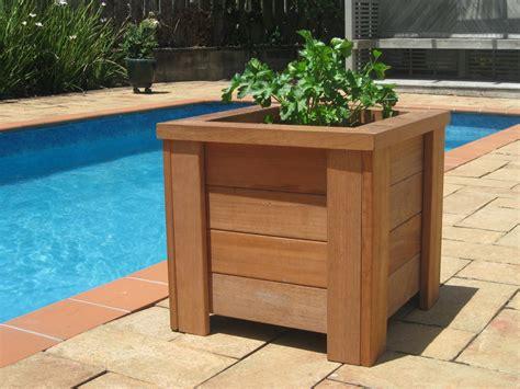 planter design how to build a wooden planter box portable gardening