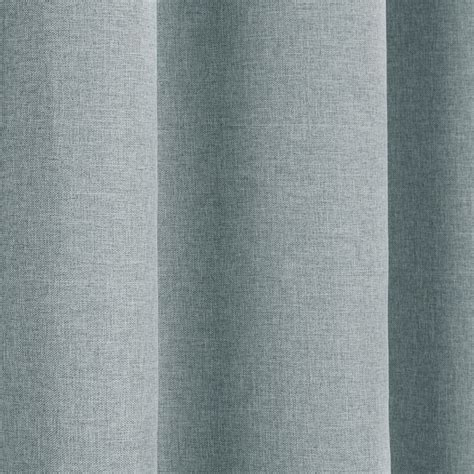 textured drapes textured woven plain thermal blackout linen look eyelet