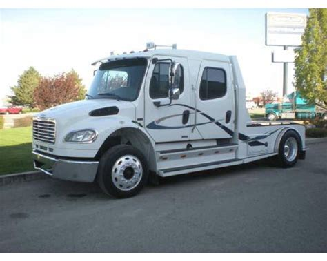 Freightliner With Sleeper by 2007 Freightliner M2 Sleeper Truck For Sale Na Id