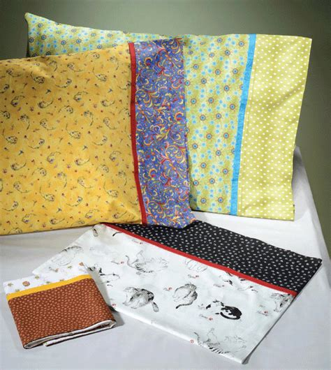 pattern for simple pillowcase that easy pillowcase pattern card