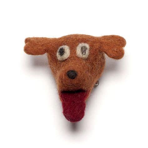 Handmade Felt Animals - handmade felt animal brooch by felt so