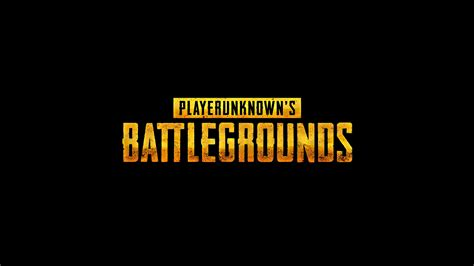 pubg yellow pubg player unknown battlegrounds logo uhd 4k wallpaper