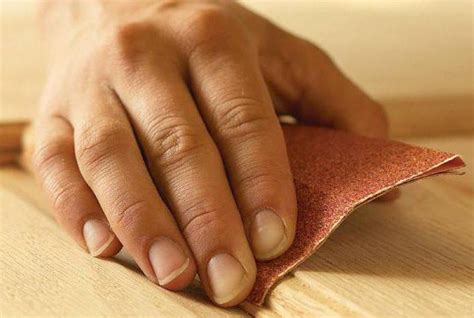 sanding detailed woodwork sanding wood by