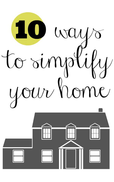 simplify your home 10 ways to simplify your home southern savers