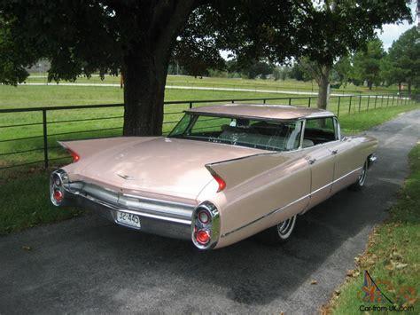 1960 pink cadillac pink 1960 cadillac 4 door flattop