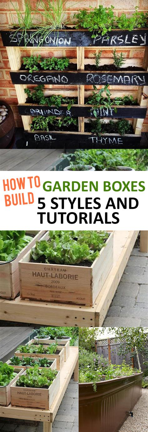 how to build garden boxes 5 styles and tutorials page 6