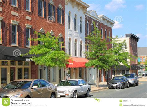 small american towns small town stock photo cartoondealer com 80317878