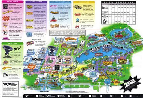 map of universal studios universal orlando map 1999 cadillac
