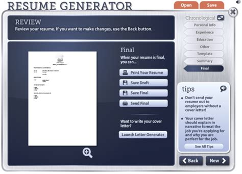 Cv In Generator Tools To Help You Create A Winning Resume Code Geekz