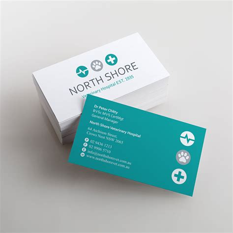 Vet Business Card Template by Business Cards Veterinary Gallery Card Design And Card