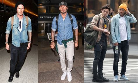 Beckham Talks Denim With by How To Wear Denim Shirts With Any S