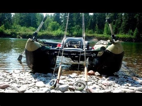 fishing from inflatable pontoon boat inflatable pontoon boat fly fishing youtube
