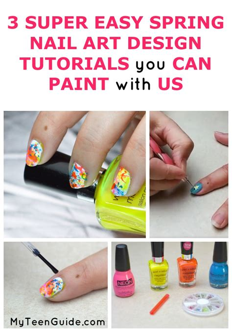 easy nail paint 3 easy nail designs tutorials you can paint with us