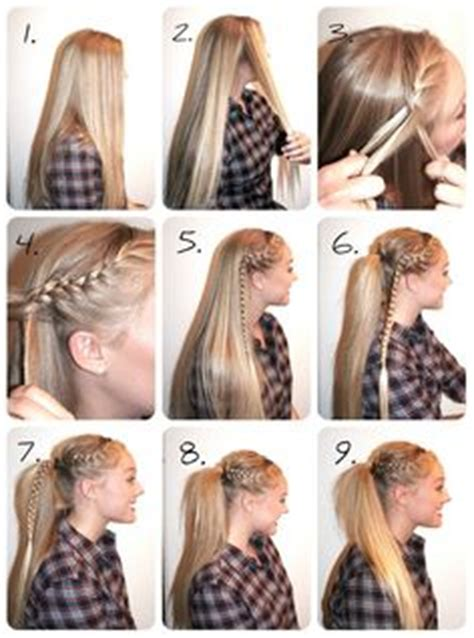 soccer haircut steps 1000 images about hair on pinterest curls braids and