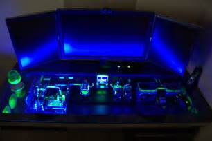 Gaming Computers Desk This Custom Built Computer Desk Will Make Your Pc Feel Inadequate Entertainment Buddha