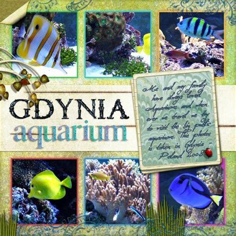 scrapbook layout aquarium aquarium scrapbook page layouts and scrapbook pages on