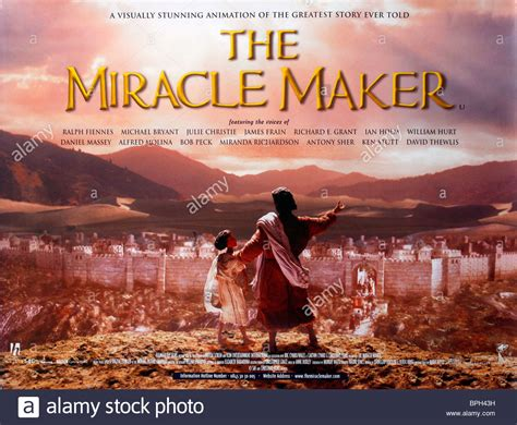 The Miracle Maker Free Poster The Miracle Maker 2000 Stock Photo Royalty Free Image 31109221 Alamy