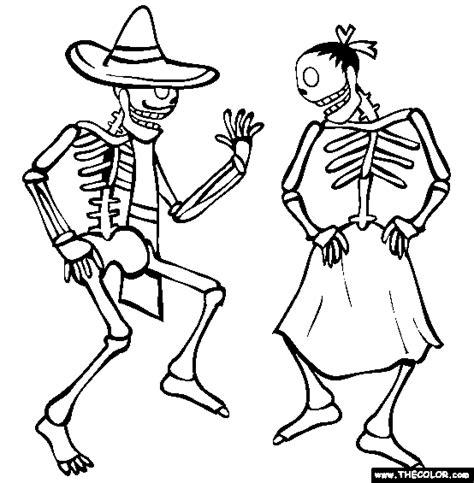 skeleton coloring pages skeleton coloring pages