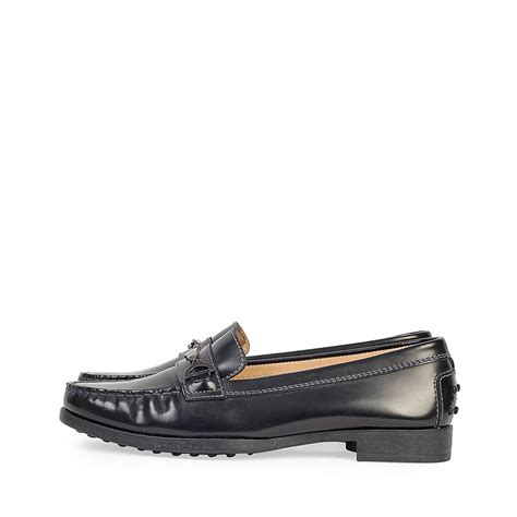 s loafers black tods leather loafers black s 37 4 new luxity