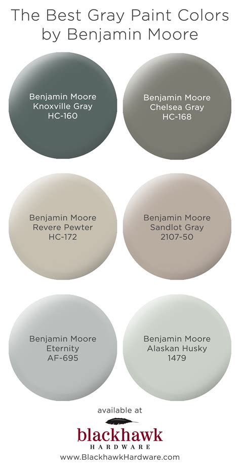 best grey paint colors the best gray paint shades by benjamin moore blackhawk