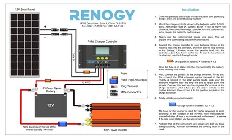 12v solar panel wiring diagram circuit and schematics